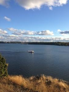 båt i oktober